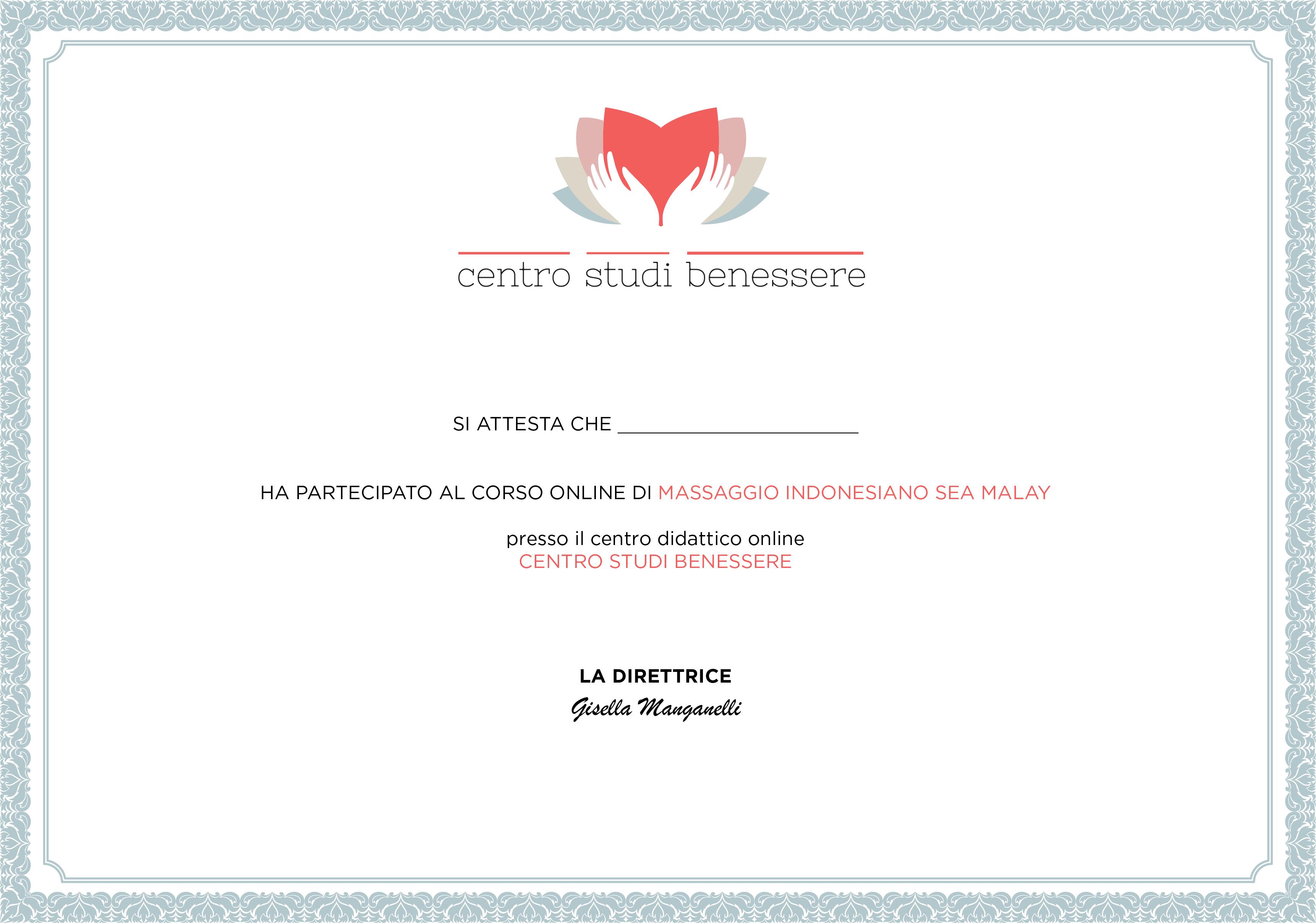 Corso Indonesiano Certificato