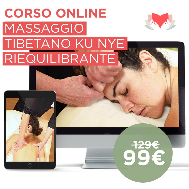 Corso Online Massaggio Tibetano Riequilibrante