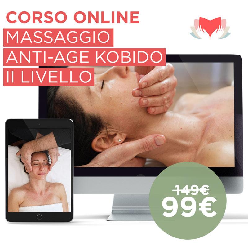 Corso Online Massaggio Kobido II Livello