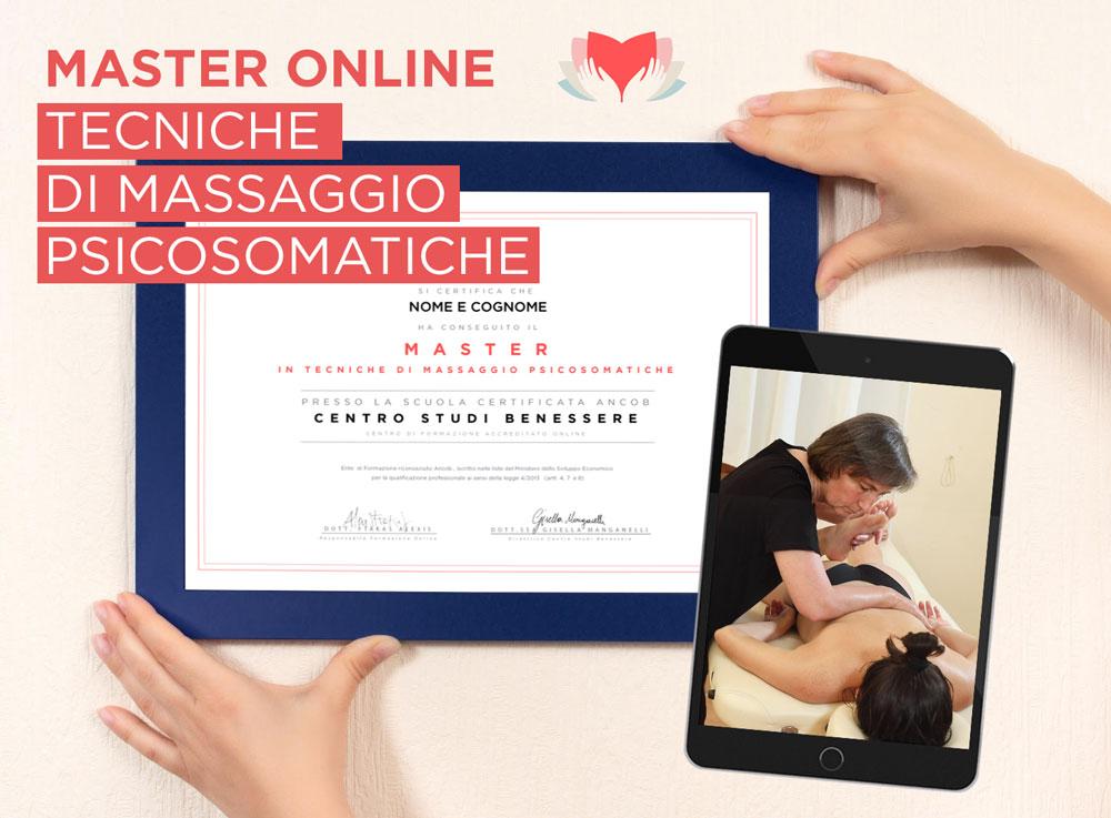 Master Tecniche Massaggio Psicosomatiche